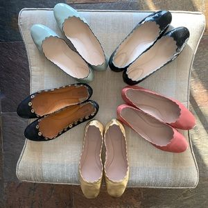 CHLOE ballerinas size 40 CORAL Leather